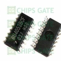 9PCS BU4053BCF Encapsulation:SOP16,Triple 2-channel Analog Multiplexer /