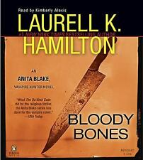 Anita Blake, Vampire Hunter: Bloody Bones 5 by Laurell K. Hamilton (2010, CD)