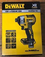 DEWALT DCF887N BRUSHLESS 18v IMPACT DRIVER - Skin Only