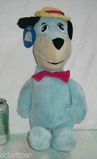 "1987 Vintage HANNA BARBERA Plush 15"" HUCKLEBERRY HOUND Stuffed BLUE DOG"