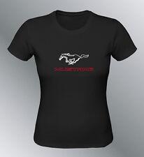 Tee shirt personnalise Mustang S M L XL XXL femme GT500 shelby muscle car