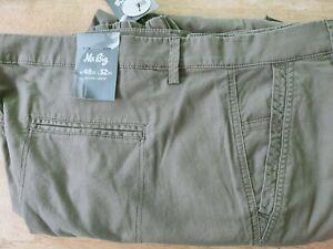 6XL {48 ] mr big plus jogger pants khaki {rrp $45.00} last one