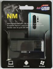 NM Nano card reader with USB and USB type-c port USB 3.0 upto 100MB/S for Huawei