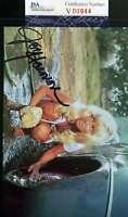 JOY HARMON JSA COA Hand Signed 4x6 Photo Autograph COOL HAND LUKE