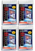 400 x Ultra Pro Team Bags Resealable Card Sleeve Toploader Protector 4 x 100