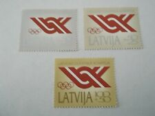 1992 Latvia Recognition of Latvian Olympic Committee m/m Mi.275/7. A7C17