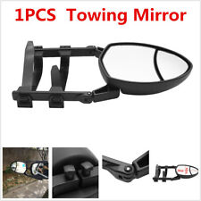1X Clip-on Car Trailer Towing Mirror Extension Rearview Mirrors Plastic/Nylon