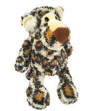 "Manhattan Toy Clouded Leopard Plush 10"" Cheetah Cat Bean Bag Stuffed Animal"