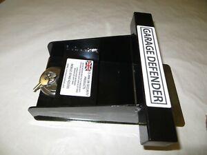 UK garage door defender lock. HEAVY DUTY SECURITY SYSTEM. padlock + fixings BLK
