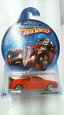2006 Hot Wheels Holiday HotRods Christmas Ornaments Lancer Evolution 7 - Orange