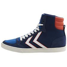 Hummel Slimmer Stadil High Sneaker Schuhe Turnschuhe Sportschuhe blau 2033721009