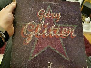 GARY GLITTER Glitter Vinyl Lp Album BELL 1108 Rock And Roll Part 2 Gatefold 1972