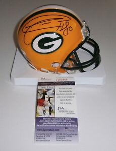 PACKERS Donald Driver signed mini helmet w/ #80 JSA COA Autographed AUTO GB WR