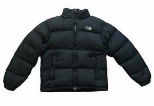 The North Face Nuptse Jacket Men's Black Down 700 Puffer Jacket Small *READ*