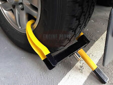 TANDEM CAR MACHINE BOBCAT MINI EXCAVATOR TRAILER SECURITY WHEEL CLAMP LOCK WC103