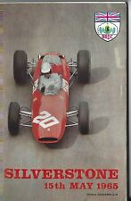 International Trophy Meeting  Programme - Silverstone 1965