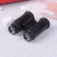 Miniature dollhouse binocular telescope educational model toys gift  IJ