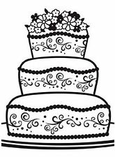 darice embossing folder- fancy cake