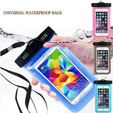 Waterproof Underwater Dry Pouch Bag Case Cover For iPhone 5S/6/6S Samsung Galaxy