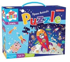 Space Animals Jigsaw Puzzle - 48 Pieces