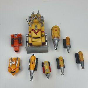 Thunderbirds Are Go Firefly Mole Set and Etc