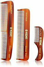 Kent Mens Handmade Comb, Set of 3