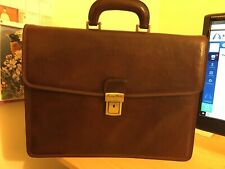 Tuscany Leather Amalfi Briefcase 1 compartment, Brown