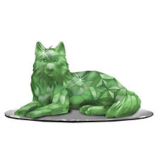 Guardian of the Jadeite Wolf Rarest Gem Wolves of the World Figurine Resin