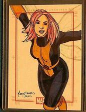 Marvel-70 Years-Mark Dos Santos-X Men-Art-Comic-Drawing-Sketchafex-Sketch Card
