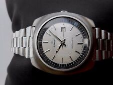 RARE COLLECTIBLE VINTAGE BIG SIZE SS RODANIA DATE WOMENS AUTOMATIC WRISTWATCH