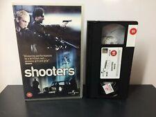 SHOOTERS - EX RENTAL -  Big Box - Large Box - VHS Tape #