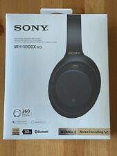 Sony WH-1000XM3 Wireless Noise Canceling Over-Ear Headphones Black SEALED