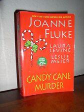 Hannah Swensen Mystery: Candy Cane Murder No. 11 by Levine & Meier (PB,2007)