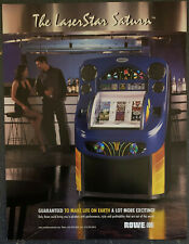 New listing ROWE AMI LaserStar SATURN CD Jukebox Advertising Flyer 1999 - Box Shipped