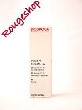 BIODROGA PURAN FORMULA BB Cream SPF 15 02 Honey 40ml NEW