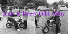 4 Classic Photographs Young ANDY GIBB & BARRY GIBB!