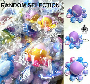 Octopus Double Sided Bubble Sensory Fidget Kids Toy Special Needs Stress Relief