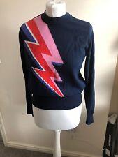 Joanie Clothing Kim Lightning Bolt Jumper Small