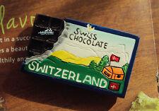 Swiss Chocolate, Switzerland Travel Souvenir 3D Resin Fridge Magnet Craft GIFT