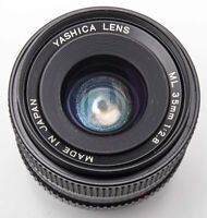 Yashica Lens ML 35mm 35 mm 1:2.8 2.8 - Contax Yashica