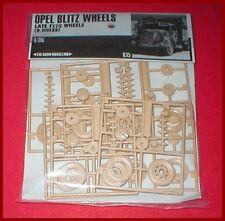 Show Modelling Opel Blitz & Maultier Wheels for Italeri 1/35 Scale Model Kit
