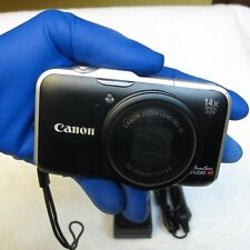 CANON POWERSHOT 12.1MP SX230 HS DIGITAL CAMERA W/CASE, NEW BATTERY & CHARGER