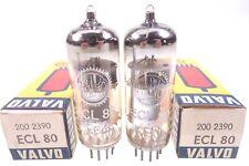 ECL 80 Röhre für SABA Röhrenradio 2 x ECL80 VALVO Tube NOS