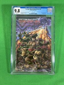 Teenage Mutant Ninja Turtles TMNT 18 - Mirage - CGC 9.8 WP - 1989 - Chang Lee