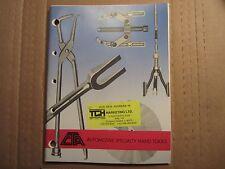 1990 CTA automotive hand tools catalog