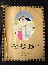 Art Goût Beauté  Juin 1922  Revue de mode Art-Déco Feuillets Elegance Féminine