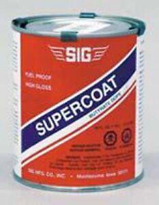 Clear Super Coat Paint 8oz Can Sig SD065