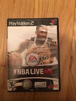 EA SPORTS NBA LIVE 08 - PS2 - COMPLETE W/MANUAL - FREE S/H (N)
