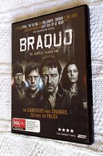BRAQUO - SEASON 1 (DVD, 2-DISC SET) R-4, LIKE NEW, FREE POST WITHIN AUSTRALIA