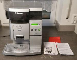 Saeco Royal Office Type SUP 015V, silber, gebraucht, funktionsfähig, komplett